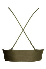 Bikini top - Khaki green - Ladies | H&M CN 3